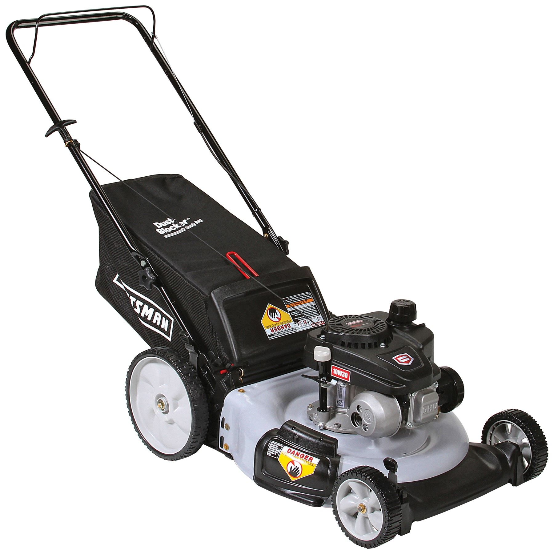 Craftsman 37460 21 140cc Push Mower With High Rear Wheels Lawn Mower Push Lawn Mower Push Mower
