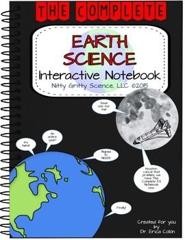 Earth Science Interactive Notebook The Complete Bundle For An