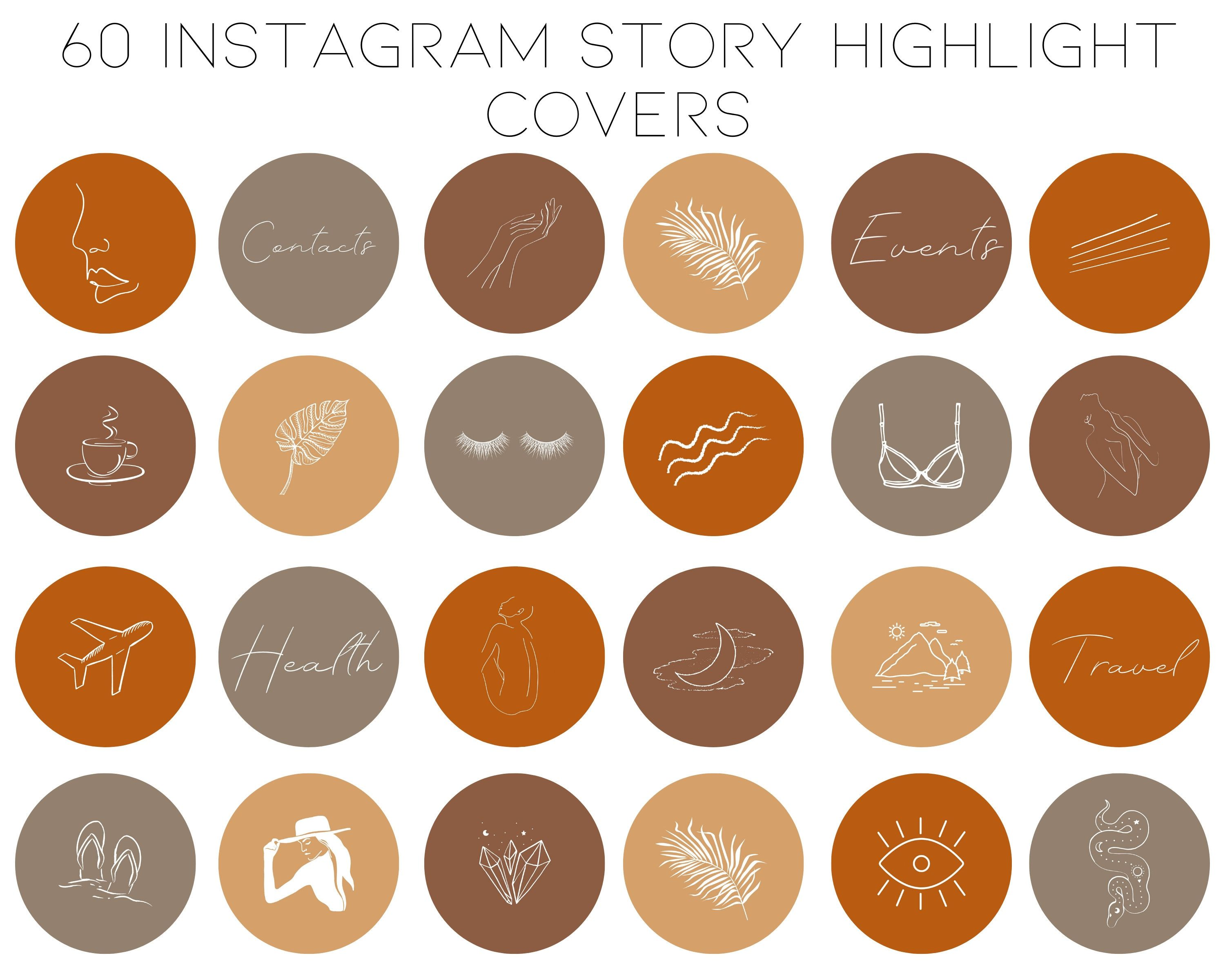 Pin On Instagram Story Highlight Icons
