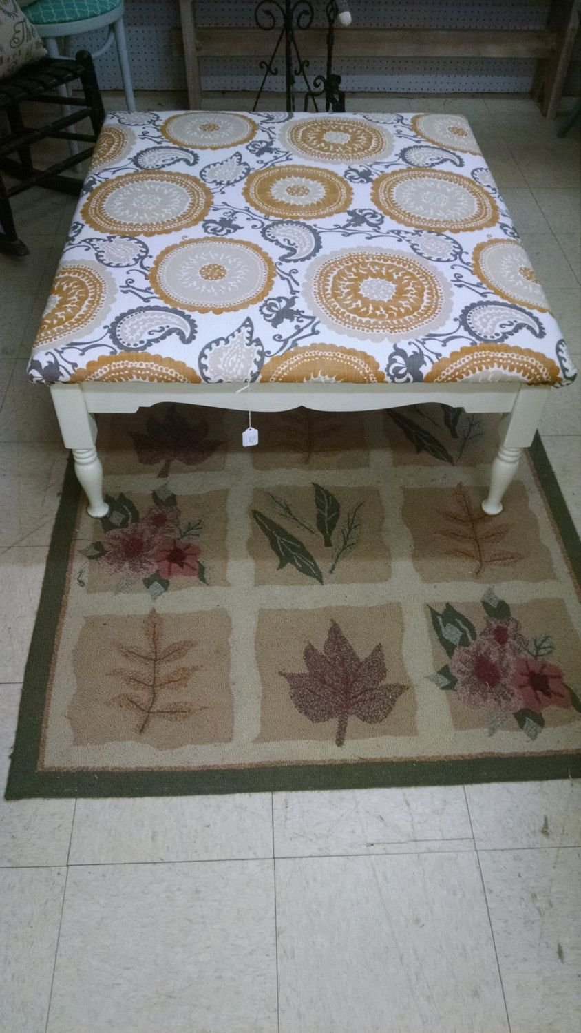 French Country Distressed Ottoman Coffee Table by RoyallyShabby on ...