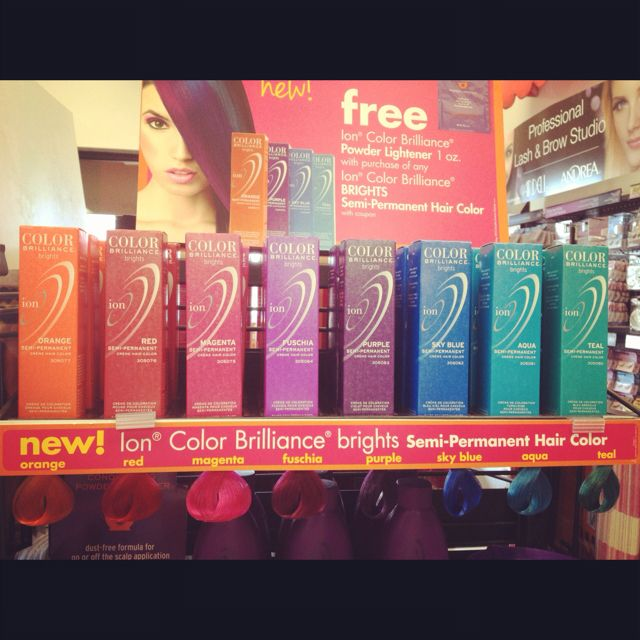 Ion Semi-permanent hair color. $4.99 at Sally Beauty Supply | Things ...