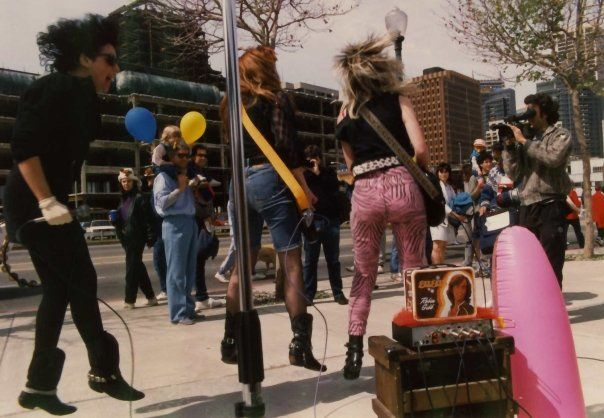 The Guttersluts first performance   Louie Louie for Leukemia Parade, #SF, CA   #bands #music
