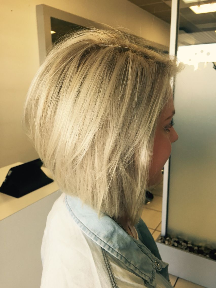 My hair - blonde concave bob | hair | Pinterest | Concave ...