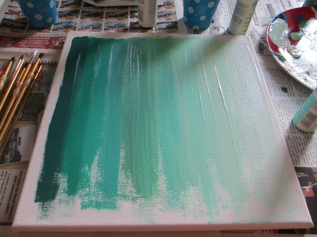 Abstrakte Kunst Selber Malen Ombre Art Diy Two Delighted Bilder Ideen Farbe