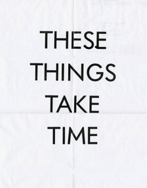 So give it time.