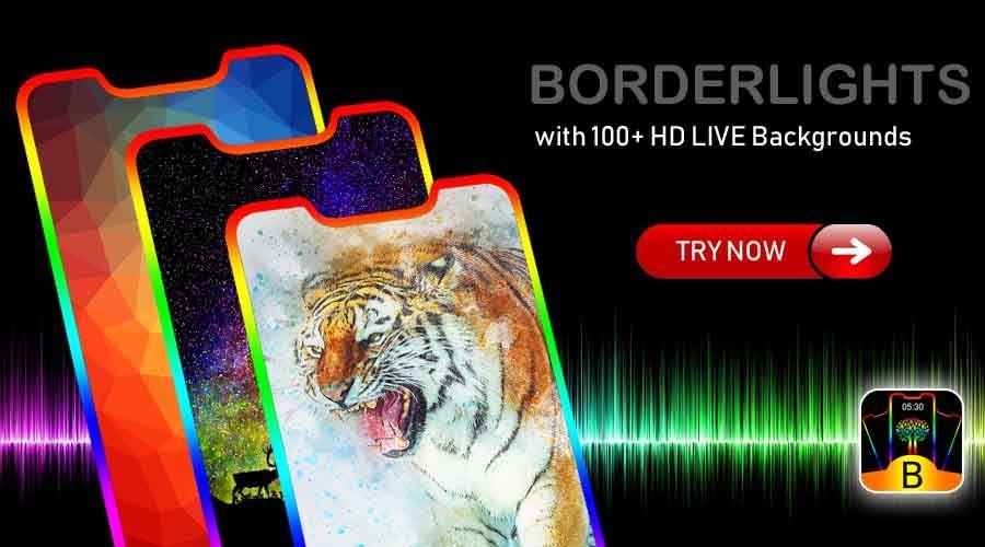 Customize the Border Size, animation speed, Border curve