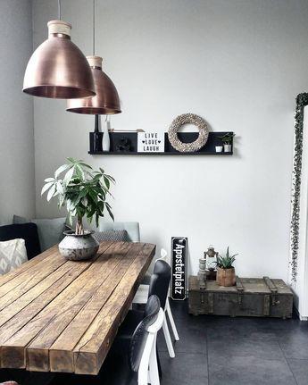 Pendelleuchte Bea - industrial chic wohnzimmer