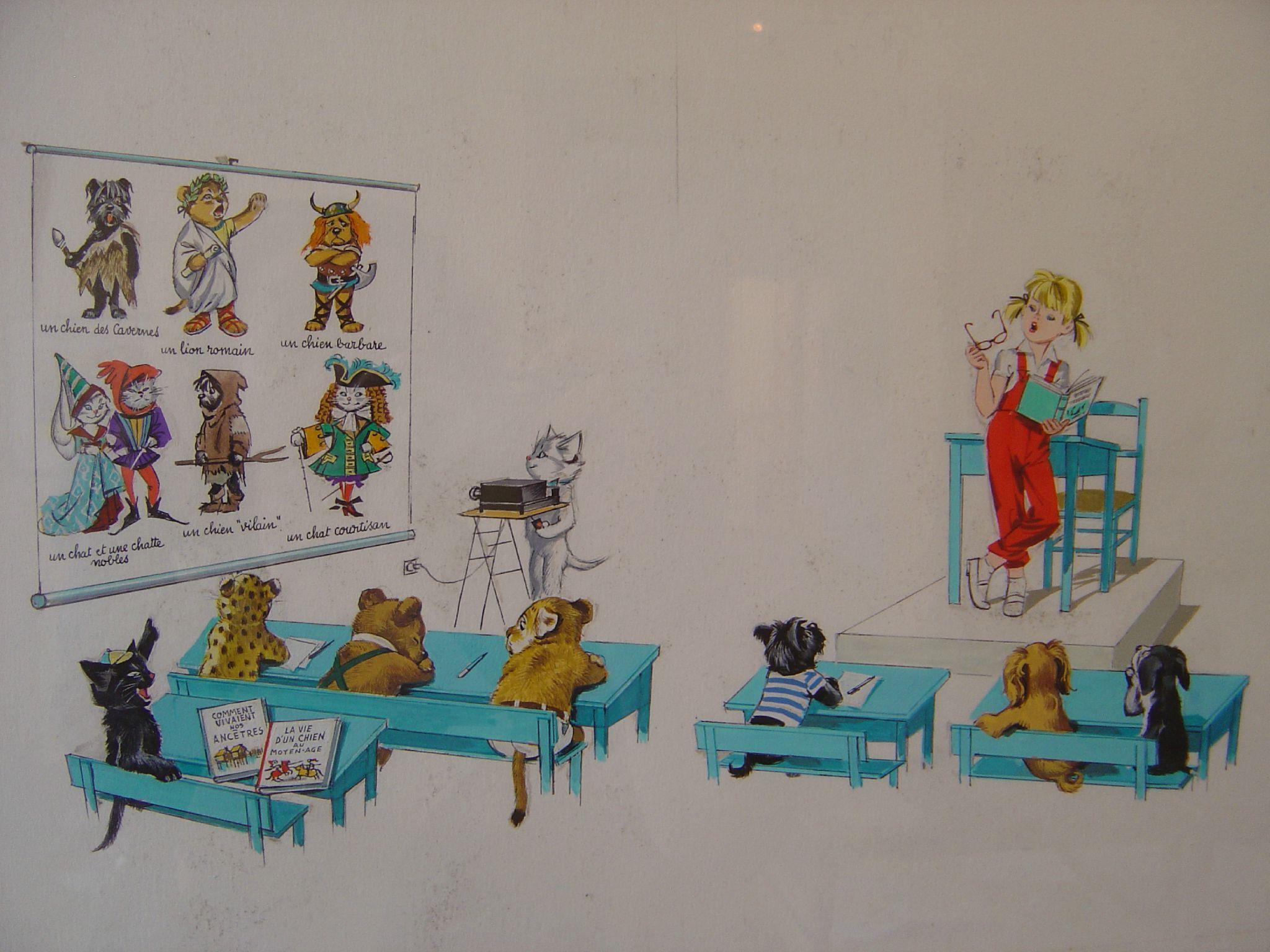 Caroline Et Ses Amis Children S Author Illustration Cute Animals