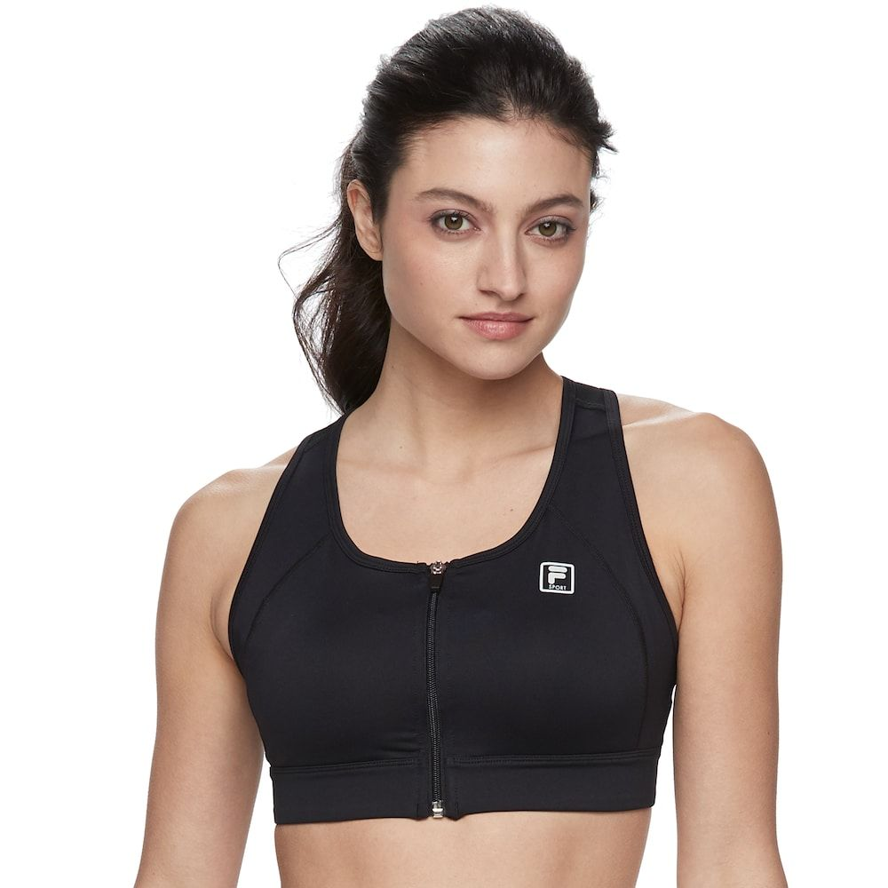 Women's FILA SPORT® Zip Front MediumImpact Sports Bra