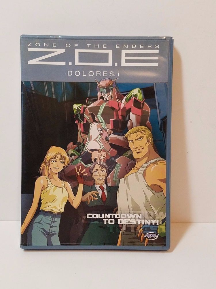 Dvd Zoe Z O E  Zone Of The Enders Dolores I Countdown To