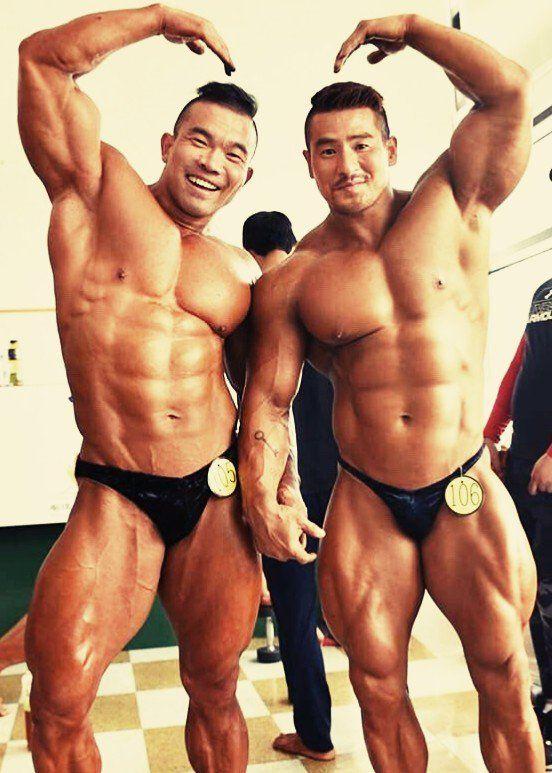 Muscle bear oriental