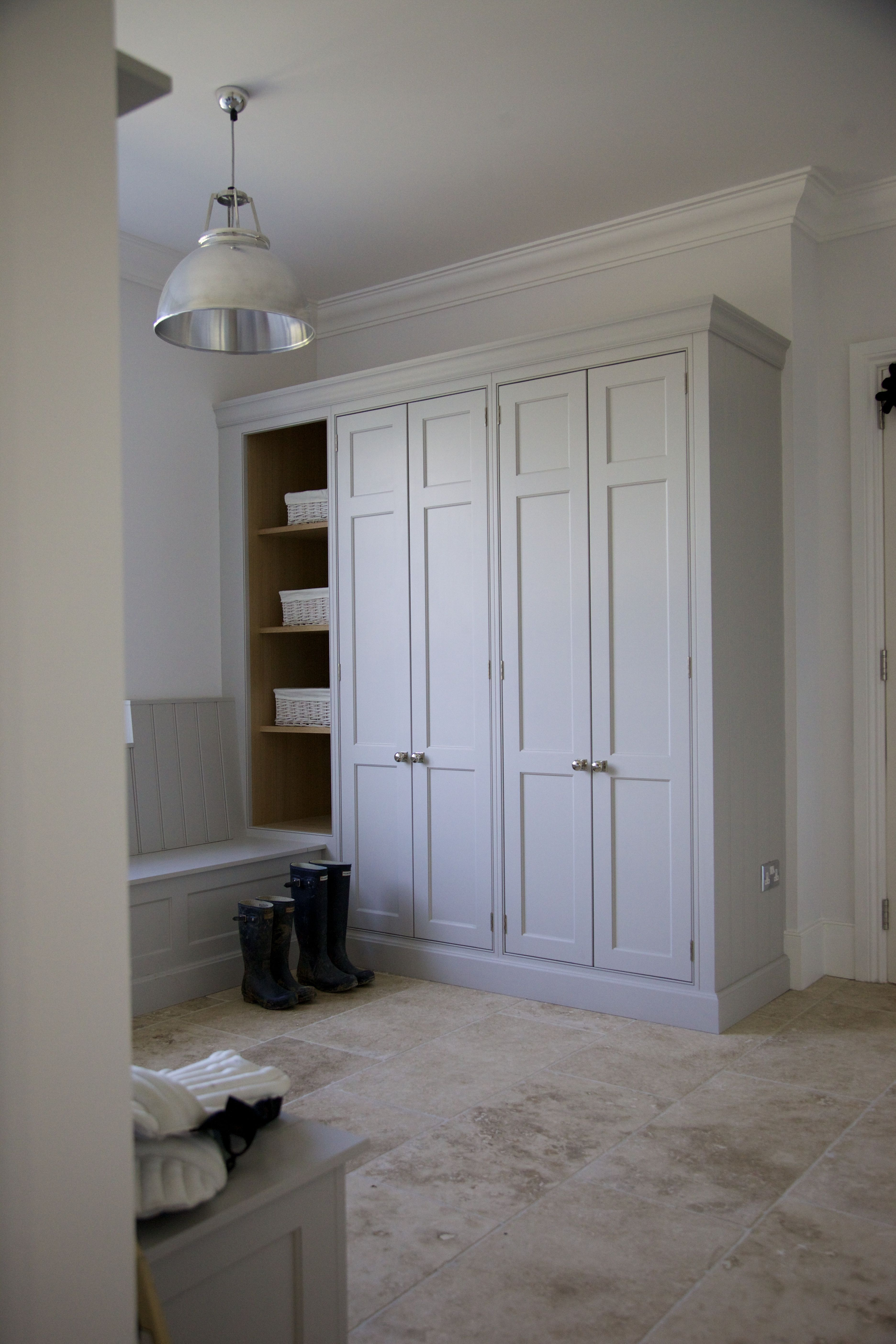 Replace louver doorsproject ashurst house kitchen design
