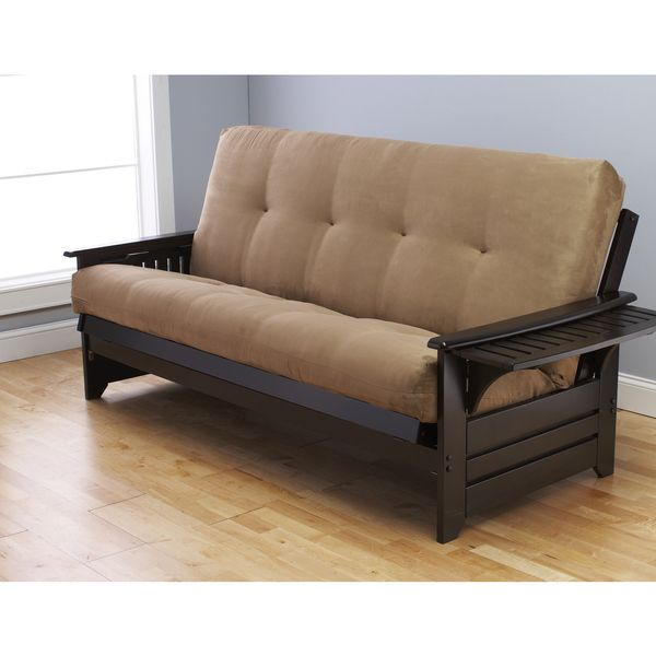 super popular ab8b0 cf65e Somette Phoenix Queen Size Futon Sofa Bed with Hardwood ...