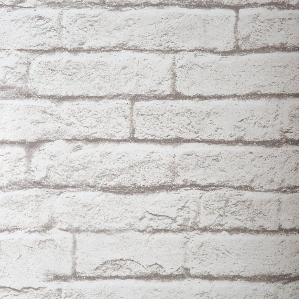 BrickandMortar Wallpaper Brick wallpaper, Magnolia