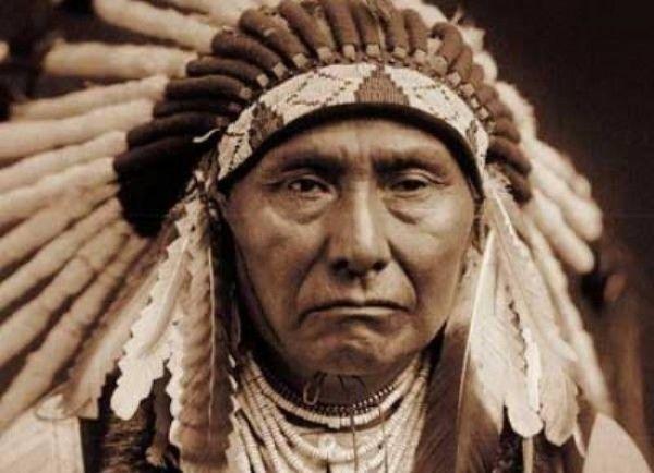 poglavica indijanac amerika sijetl
