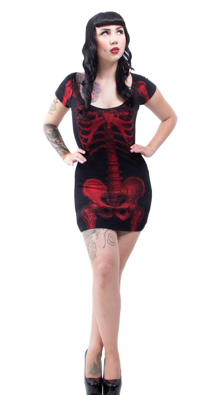 Skeleton Tunic Dress