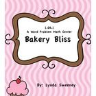 The game Bakery Bliss is a word problem center that First Grade, students use to enhance the C.C.S.S., 1.OA.1. Included with this center are 26 tas...