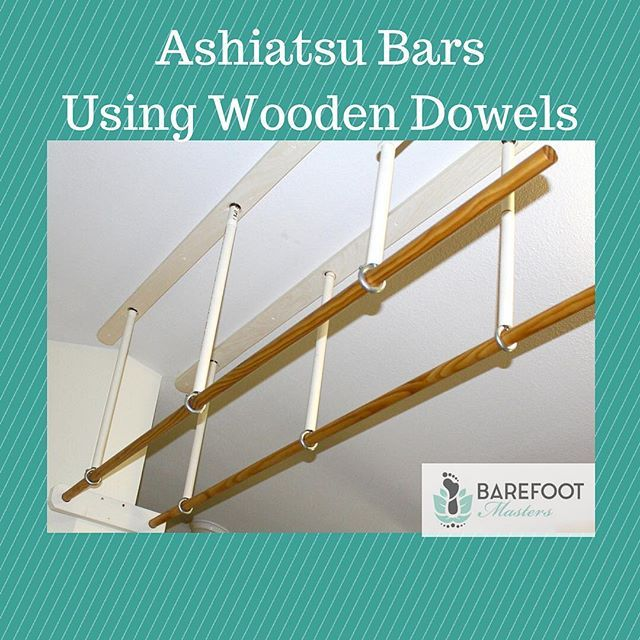 Ashiatsu bars using wooden dowels are the least expensive bars you ...