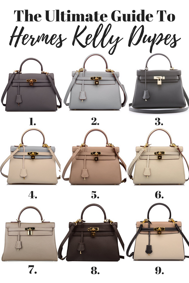 5adaf6a4 Hermes Kelly Bag Dupes - Get The Luxury Look For Less | BRAG BAGS ...