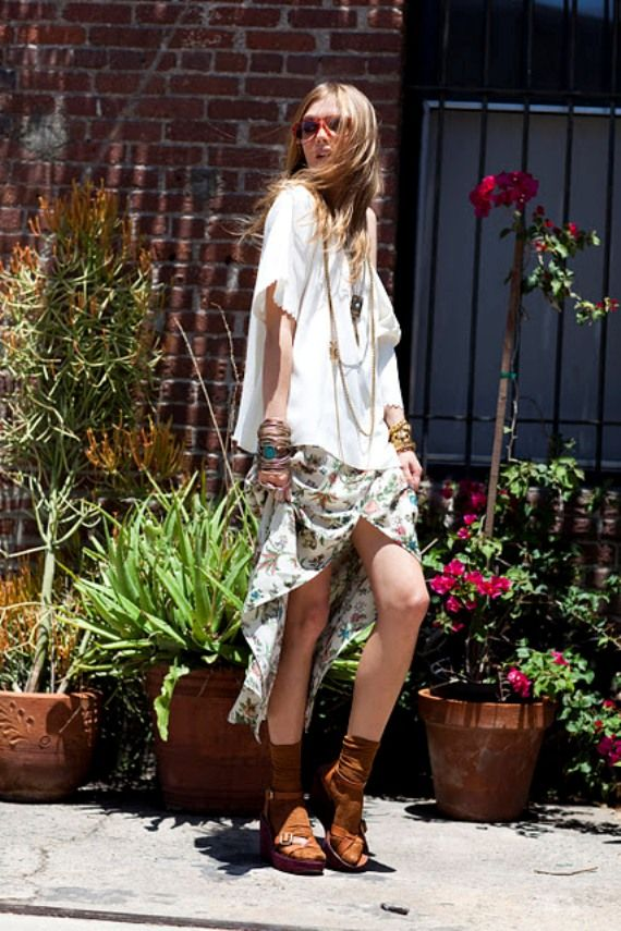 6433c88252fe Boho-Chic. Love the look and easy summer style.
