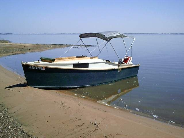 A Jim Michalak Designed AF I Have Build Plans For This One - Bolger micro trawler boats