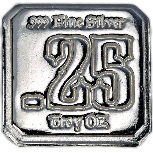 1 4 Oz High Luster Finish Suns Of Liberty Silver Square New Silver Silver Rounds Fine Silver