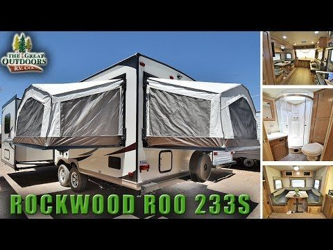 Hybrid Expandable Rv 2018 Forest River Rockwood Roo 233s Pop Out