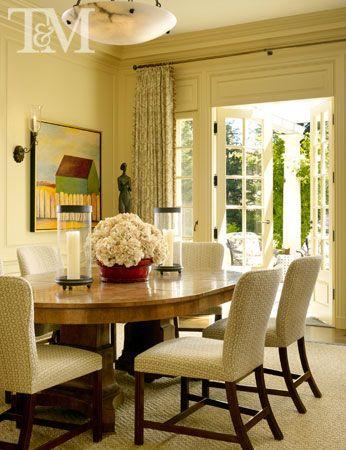 Pin By Corbin Bronze On Interiors And Art Dining Room Table Centerpieces Dining Room Centerpiece Elegant Dining Room