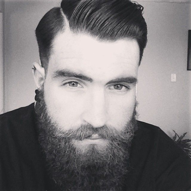 calm beard Férfi Frizura c89d684928