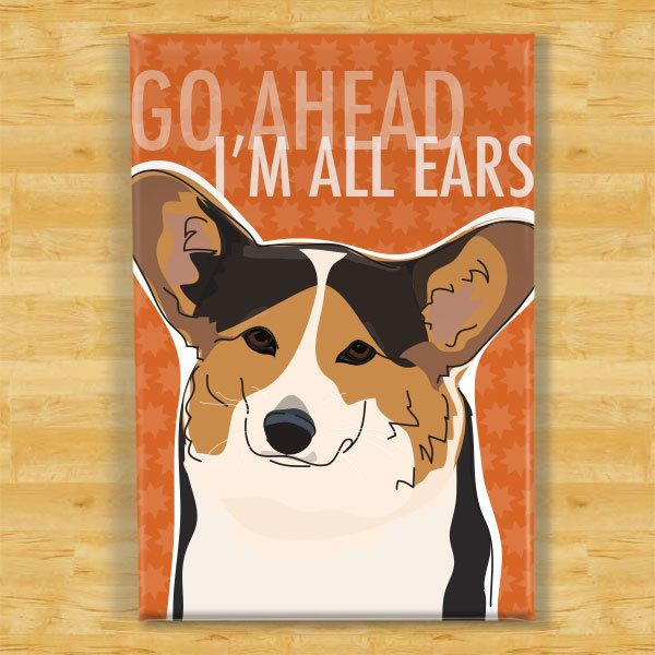 Cardigan Welsh Corgi Fridge magnet Gifts for dog owners various designs available