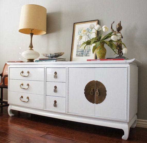 Kent Coffey Amerasia Series Mid Century Modern Dresser W Pagoda - Kent coffey bedroom furniture