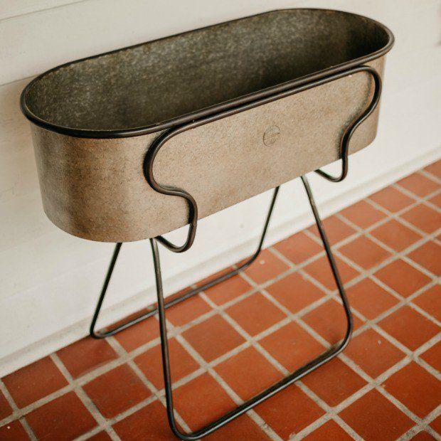 Galvanized Beverage Tub With Stand Galvanized Beverage Tub Beverage Tub Galvanized Tub