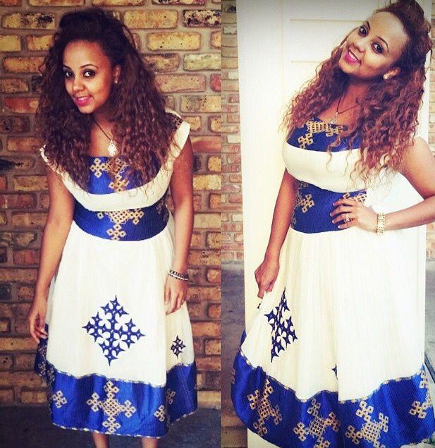 Blue Dresses in Ethiopia
