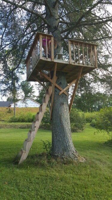 Zipline tower in 2020   Backyard, Zip line backyard, Garden