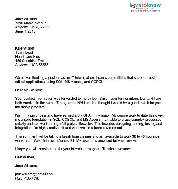 sample letter yourself business cover format creating executive - introduction letter format