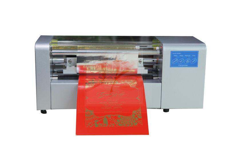 Ly 400b Foil Press Machine Digital Hot Foil Stamping Printer Machine Russia Free Tax Hot Foil Stamping Printing Business Cards Foil Stamping