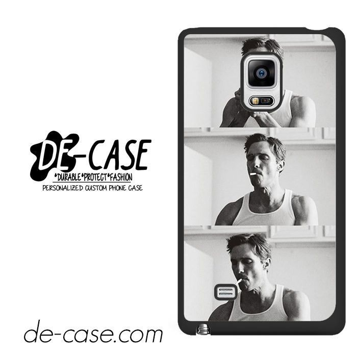 Smooking Rustin Cohle True Detective DEAL-9736 Samsung Phonecase Cover For Samsung Galaxy Note Edge
