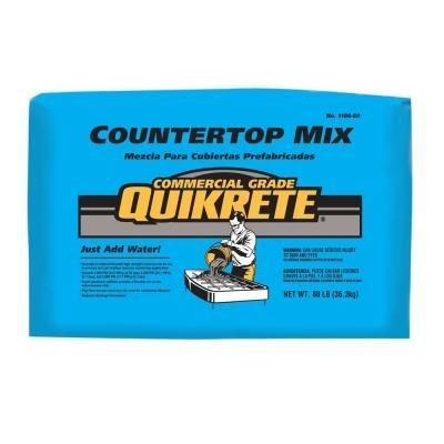 Concrete For Countertops Home Depot Maybe Pricier But Worth It Comes In Different Colors Concrete Mixes