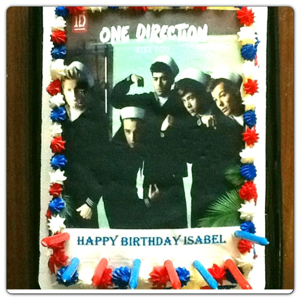 I want my birthday to come back OMG that was one of the best birthday cakes I have ever gotten