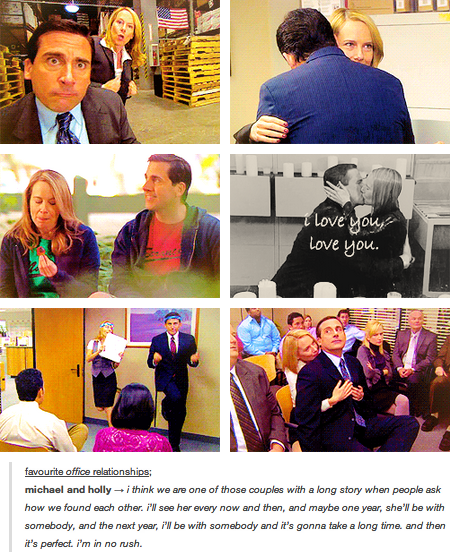 Michael And Holly The Perfect Couple Holly The Office Office Cast Office Memes