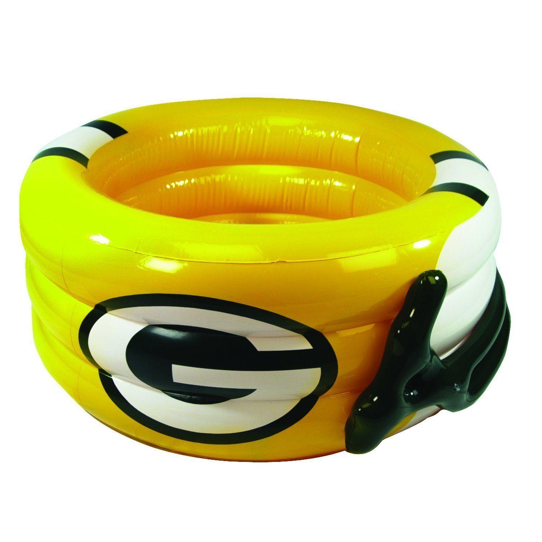 Green Bay Packers Inflatable Helmet Pool Greenbaypackers Superbowl Superbowl2014 Nfl Green Bay Packers Clothing Green Bay Packers Helmet Green Bay Packers