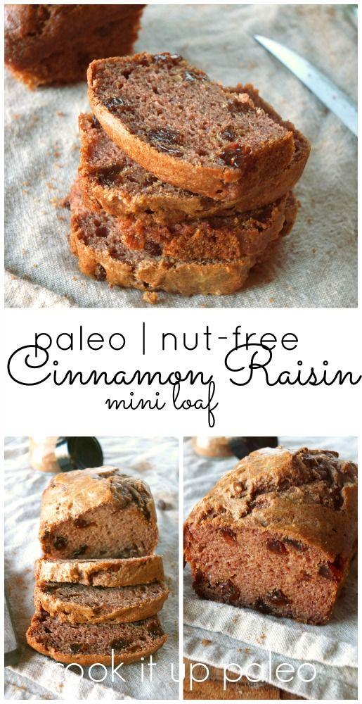 Paleo Cinnamon Raisin Bread Made With Otto S Naturals