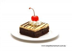 "♥ me some ""Extravagant Cheesecake Brownies""!!!"
