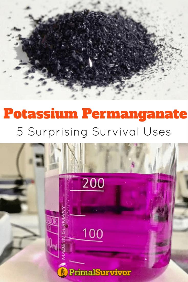 Potassium Permanganate 5 Surprising Survival Uses Survival Kits