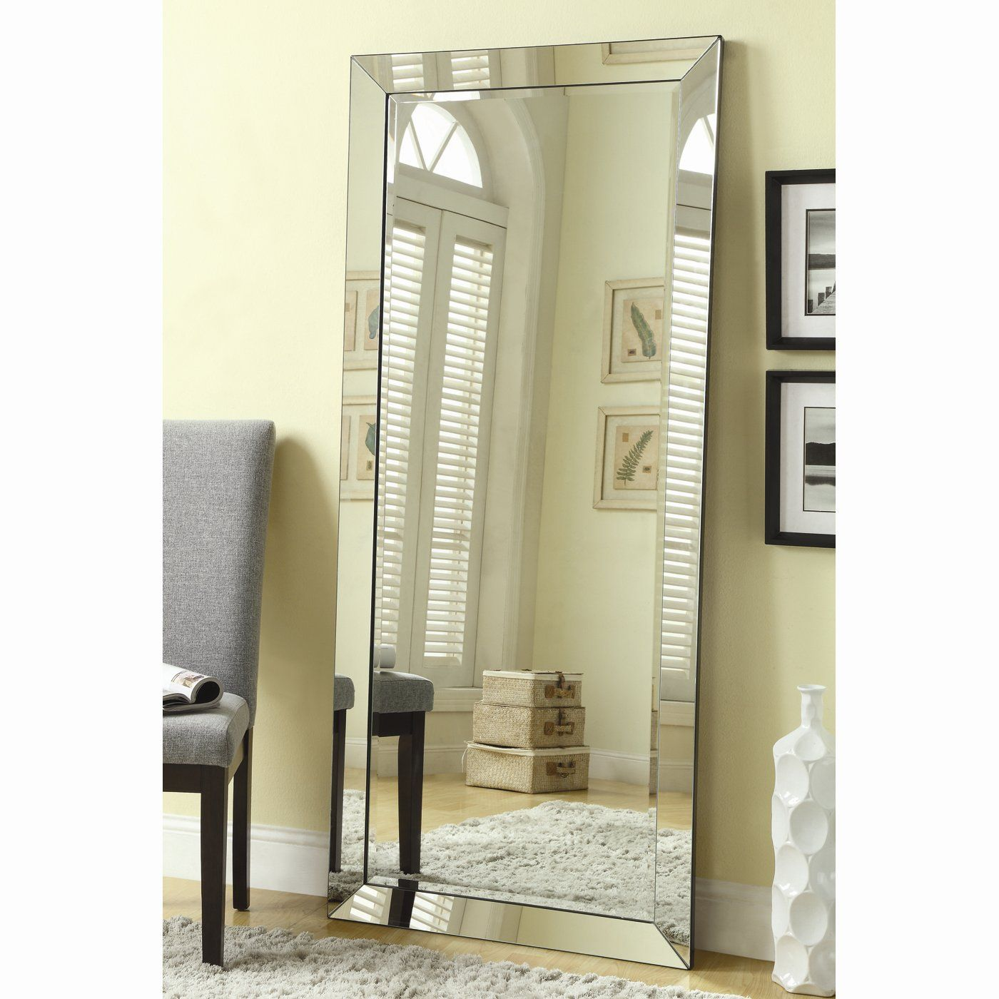Shop Coaster Fine Furniture 901813 Floor Mirror at ATG Stores