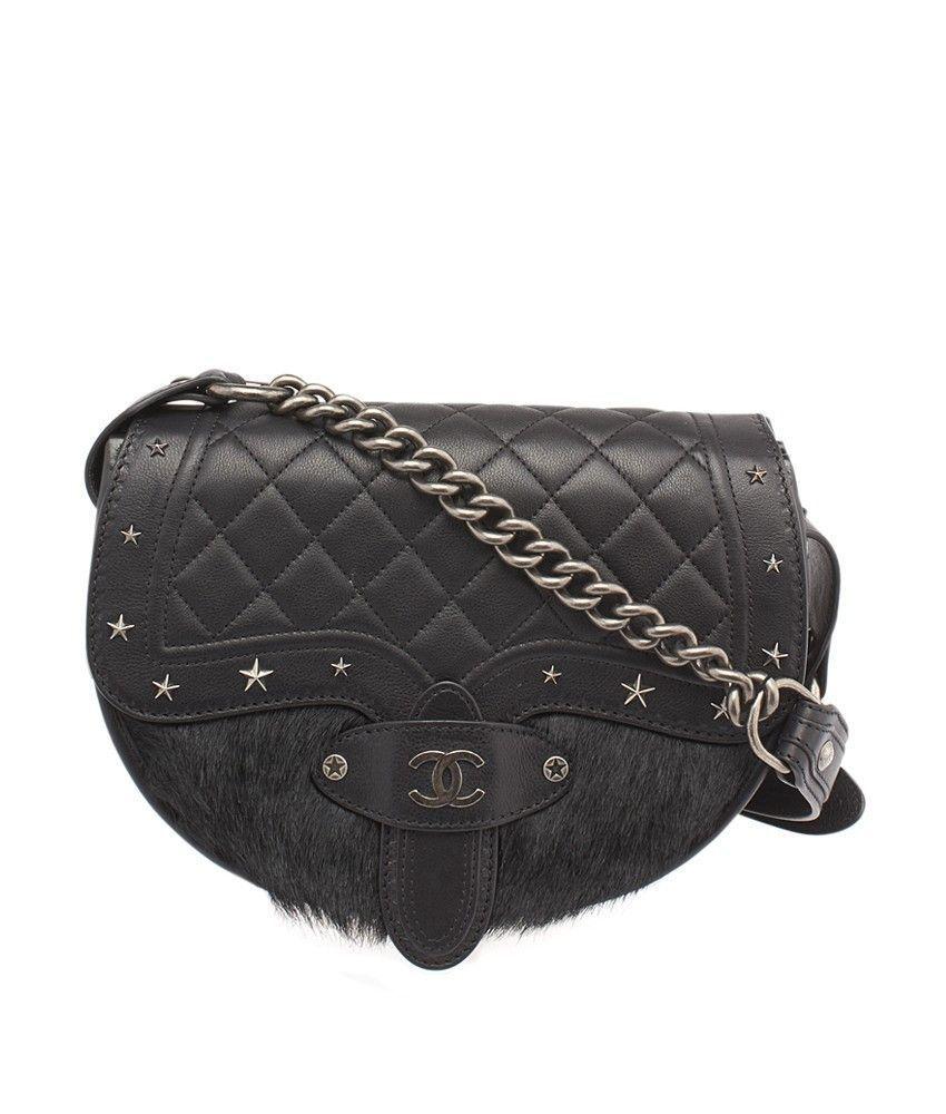 Chanel Paris Dallas Metiers d Art Quilted Leather   Pony Hair Shoulder Bag d48c00f2d3d5b