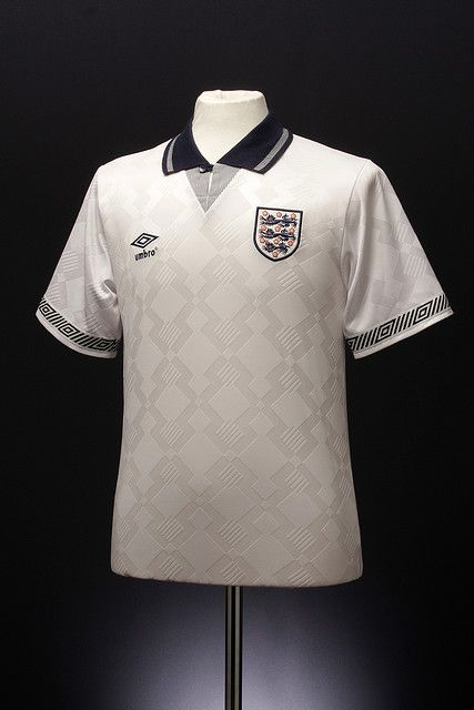 England Home Shirt 1990 92 Vintage Football Shirts Classic Football Shirts Football Shirts