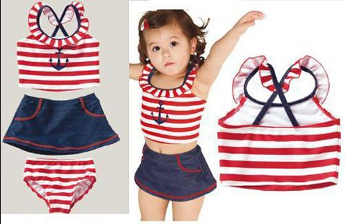 Anchor Swimsuit 4 Piece