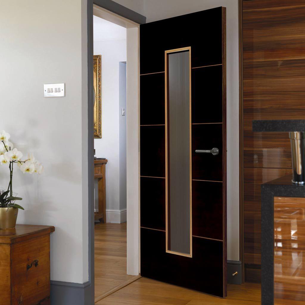 Jbk Zodiac Flush Libra Fire Door With Clear Glass Is 12 Hour Fire