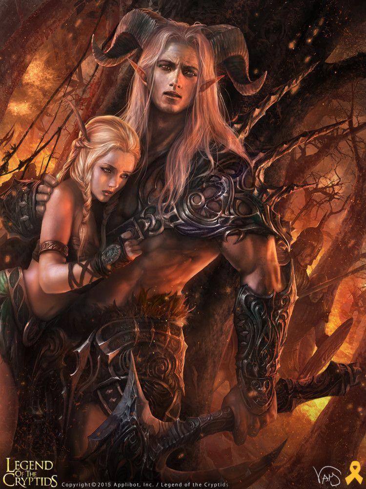 Fantasy Art Naked 3d Gold